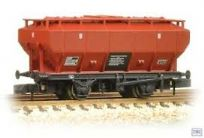 Graham Farish 377-765 Covered Hopper Wagon BR Bauxite